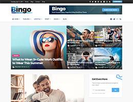 Bingo Blog Main Demo