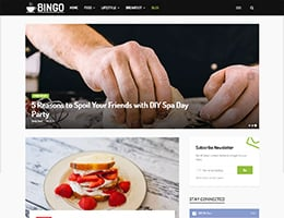 Bingo Blog Foodies